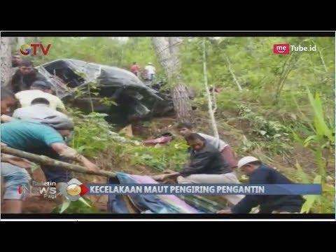Kecelakaa Maut Mobil Rombongan Pengantin di Aceh Masuk Jurang, 3 Orang Meninggal - BIP 07/11