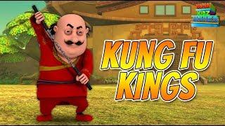 Motu Patlu Kung Fu Kings - Full Movie | Animated Movies |  Wow Kidz Movies