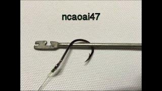 Making Disgorger-Removal Tool Fish Hook In The Fish Mouth(3) Cây Gỡ Lưỡi Câu