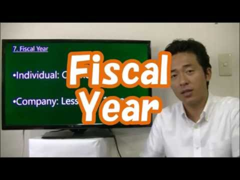 #010 Fiscal  Year in Japan - Start Business in Tokyo