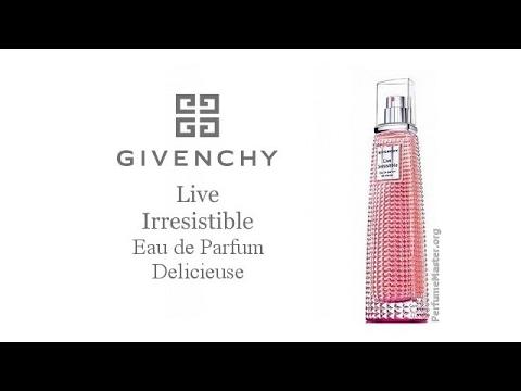 349900a6c0e Givenchy Live Irresistible Delicieuse Perfume - YouTube