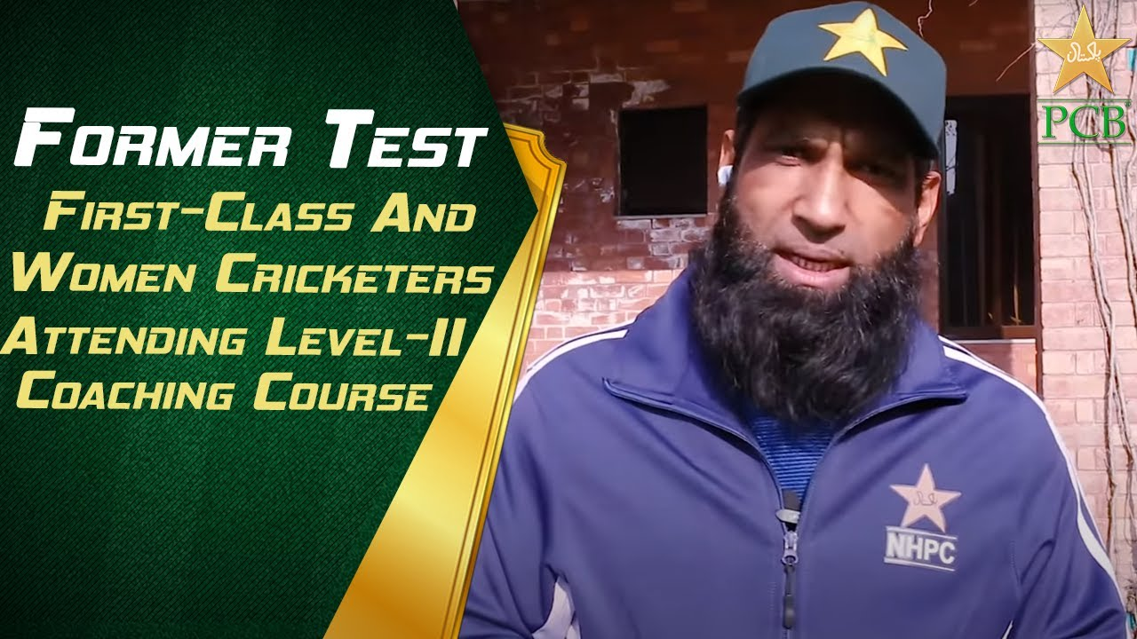 Former Test, first-class and women cricketers attending Level-II coaching course