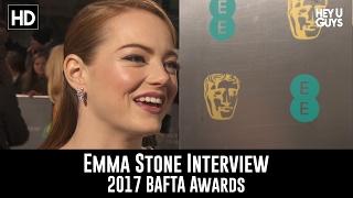 Emma Stone Interview - BAFTA Awards 2017 (La La Land)