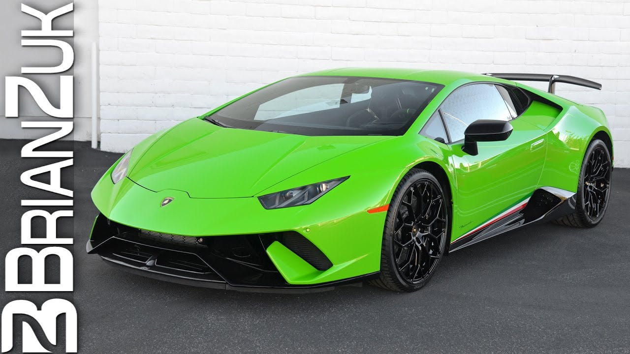 Verde Mantis Lamborghini Huracan Performante Youtube