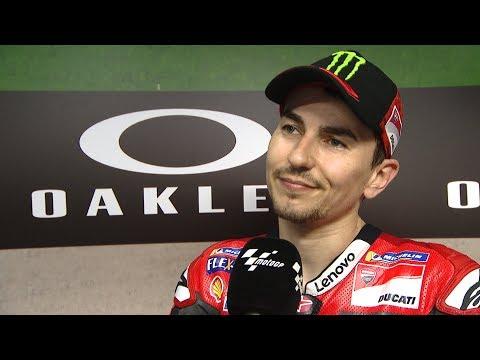 Lorenzo hints at his future...