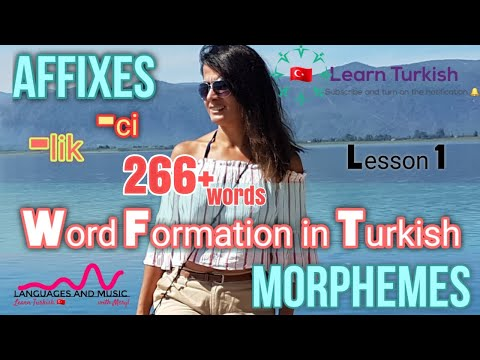 How to LEARN TURKISH VOCABULARY? The Best AFFIXES, Suffixes and Morphemes? Ultimate HACK!