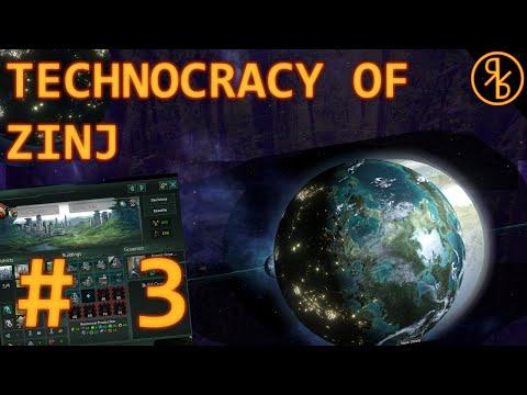 Stellaris: MegaCorp Live 3: The Technocracy of Zinj