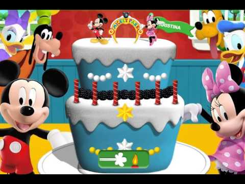 Mickey Mouse Clubhouse Disney Junior Happy Birthday Games for