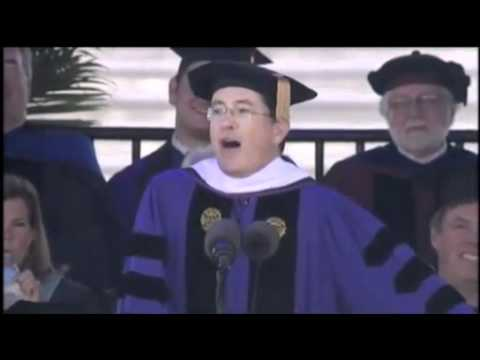 Stephen Colbert 2011 Commencement Speech at Northwestern Uni
