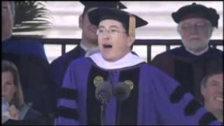 Repeat youtube video Stephen Colbert 2011 Commencement Speech at Northwestern University