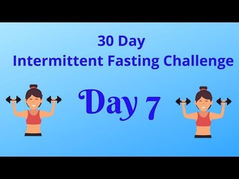 day-7-||-30-day-intermittent-fasting-challenge-||-exercise-and-diet-plan