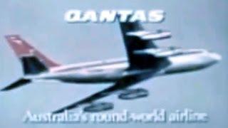 QANTAS Boeing 707-338B Commercial - 1968