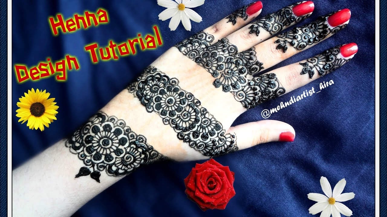 Mehndi Designs Latest New Style : How to apply easy simple new latest stylish henna mehndi designs