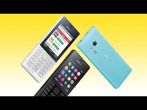 Nokia 216 Feature Phone Dual SIM, Dual LED Flash Connect to Internet & Take Selfies Whatsapp GIF,Tag