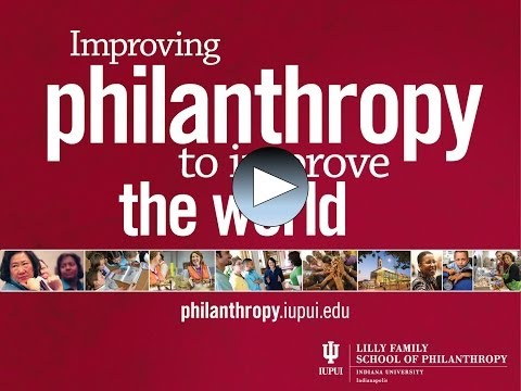 Philanthropic Studies programs video