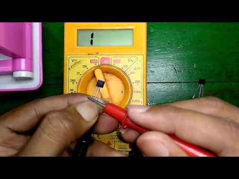 How to Check NPN and PNP Transistors using Digital Multimeter - Easy Process