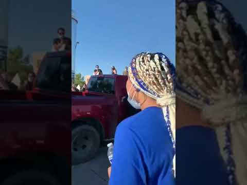 LIVE TULSA TRUCK RUNS OVER PROTESTERS GEORGE FLOYD 2020 RIOT