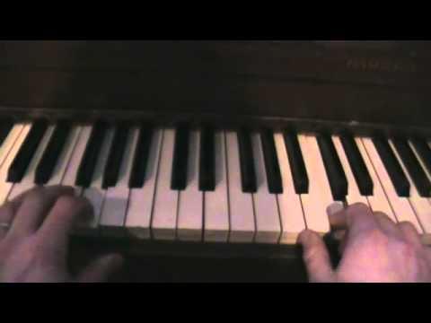 How To Play John Lennon Free As A Bird On Piano Youtube