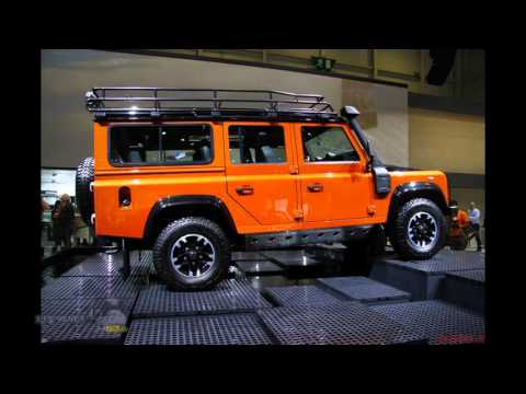 Photo review of 2015 cars Land Rover Defender auto show in Geneva
