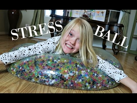 SUPER WUBBLE BUBBLE ORBEEZ BALL!!!  GIANT STRESS BALL
