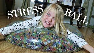 SUPER WUBBLE BUBBLE ORBEEZ BALL!!! | GIANT STRESS BALL