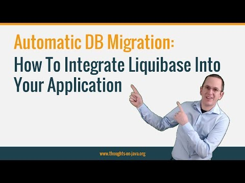 Liquibase : How To Automatically Update A Database