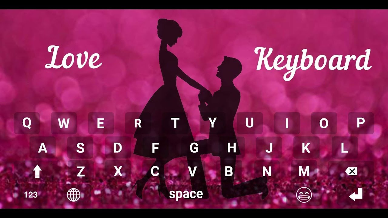 Image result for Valentineâ??s day Love Keyboard Theme mobile app