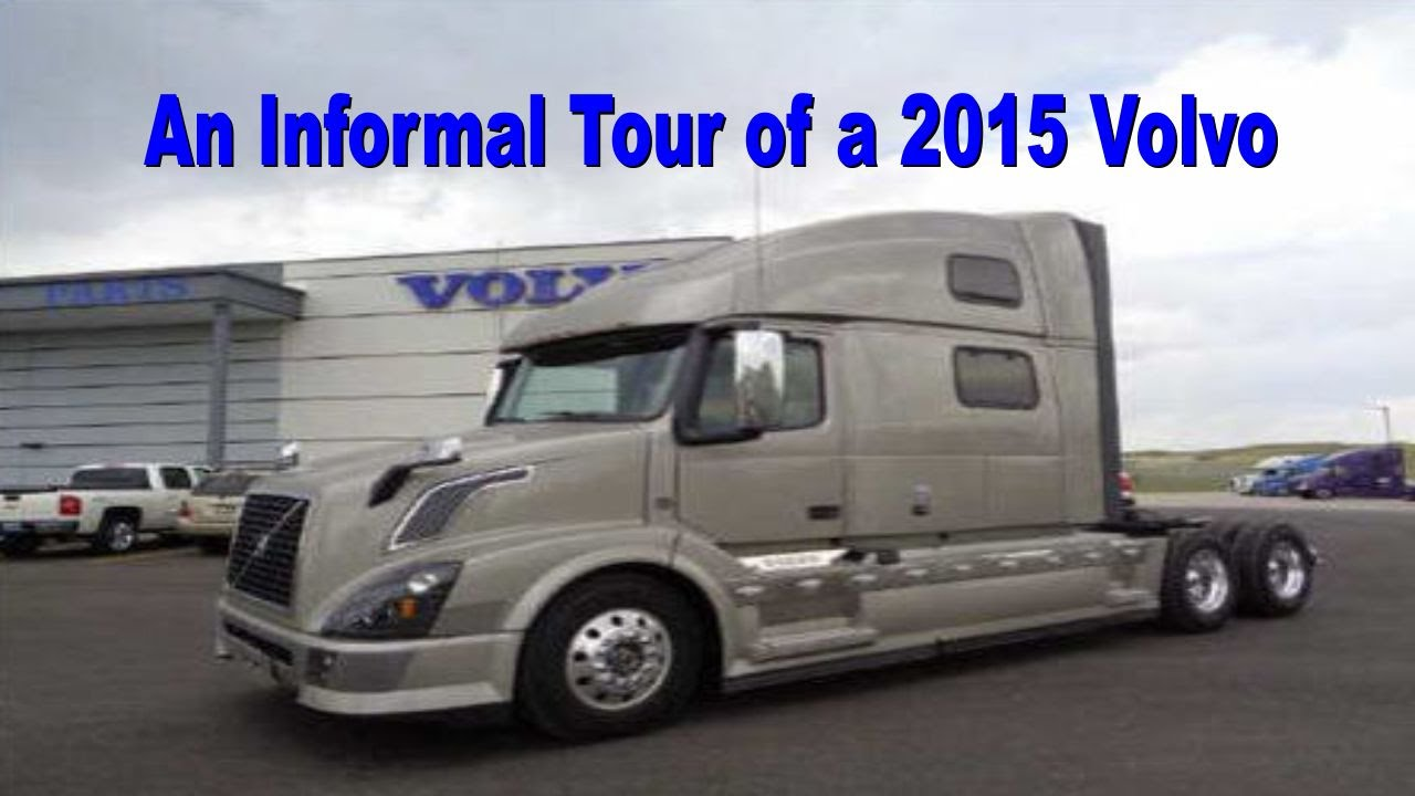 An Informal Tour of a 2015 Volvo - YouTube