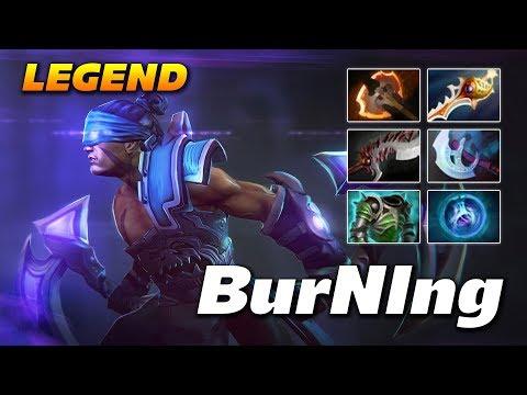 BurNIng Anti Mage Legendary Player   Dota 2 Pro Gameplay