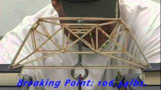 Bates Technical College Balsa Wood Bridge Breaking Competition 2011