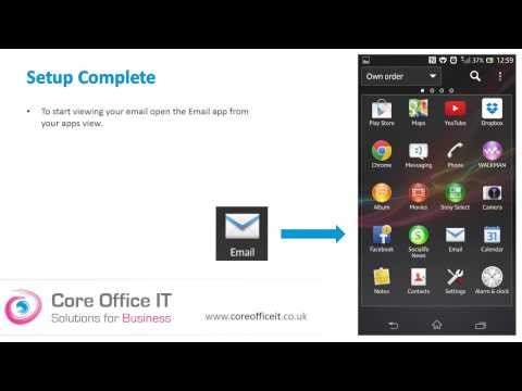 Set Up Microsoft Office 365 On Your Android Mobile Phone