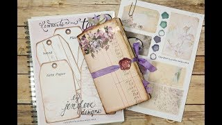 Build~A~Bellishments & Journal with Me by jenofeve designs