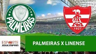 Transmissão AO VIVO - Palmeiras x Linense