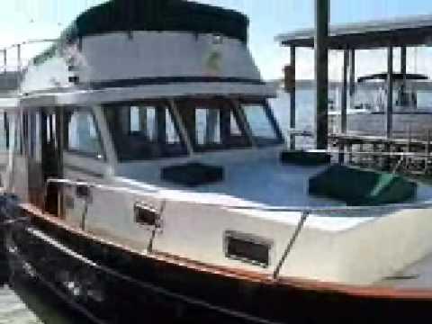 Boat for Sale - 1978 Marine Trader 36' Trawler $58,500
