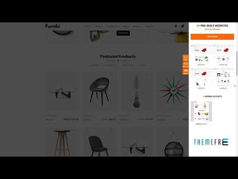 Furniki - Furniture Store and Interior Design WordPress WooCommerce T thumbnail