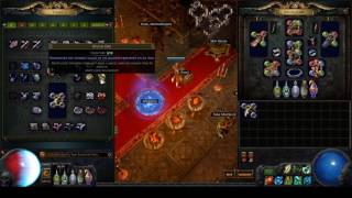 path of exile breach league crafting 45 exa hubris and losing it within 2 minutes