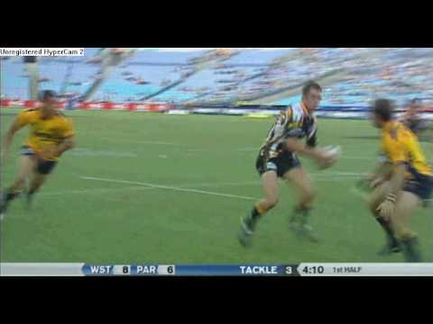 Wests Tigers 2005 - Pat Richards amazing try.