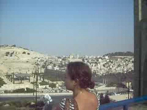 Israel's Wailing Wall, a short video