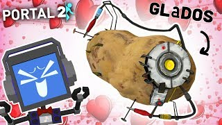 GLADOS POTATO | PORTAL 2 (PART 10) ► Fandroid the Musical Robot