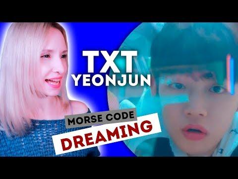 АЗБУКА МОРЗЕ?! TXT - YEONJUN REACTION/РЕАКЦИЯ | What do you do? | KPOP ARI RANG