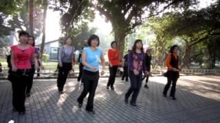 Cherry Blossom Cha Cha - Line Dance (Demo & Walk Through)
