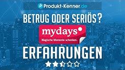 [FAZIT] mydays Erfahrungen + Review | mydays Geschenkideen im TEST! Über 14.000 Erlebnisse!