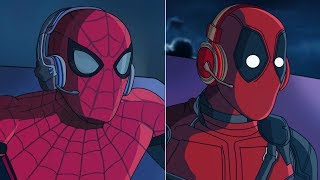 SPIDERMAN Y DEADPOOL EN FORTNITE - GAMEPLAY | FactyKilian