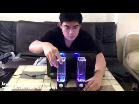 Rain Dance Speaker by ATake Co., Ltd (Pinoy Unboxing by carbonrigs) HD 1080
