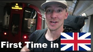 An AMERICAN Arrives in LONDON! (First Reaction)