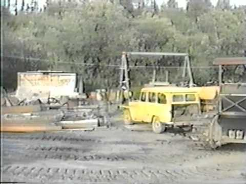 Anvil Creek Gold Mine Alaska - Camp