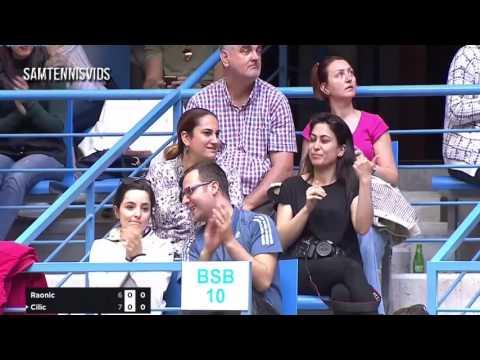 Milos Raonic Vs Marin Cilic Istanbul 2017 Final (Highlights HD)