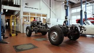 Restaurierung Mercedes-Benz G-Klasse bei Kestenholz