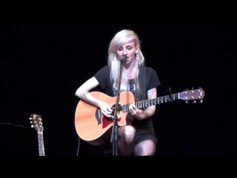 Timing is Everything (Acoustic) - Lights Live in Toronto (1080p)