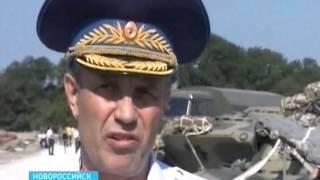В Новороссийске свое мастерство демонстрирует десантно-штурмовая дивизия